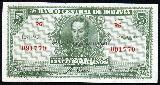 Here is a 5 Bolivianos note dated 1928 ...