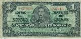 Canadian Dollar 1937