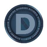 ... Altcoins » Darkcoin Round Sticker 35mm