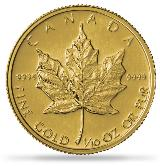 10 oz Gold Maple Leaf