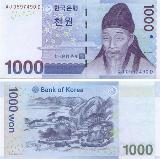 south Korean Won via currencymuseum.net