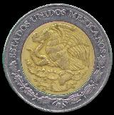 Object Collection: Mexican Peso Coins