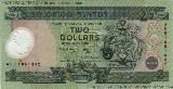 Solomon Islands 2 Dollars 2001 front image