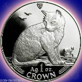 ... YORK-ALLEY-CAT-1-Oz-999-Silver-Proof-Coin