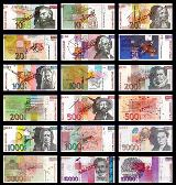 SLOVENIAN TOLAR BANK NOTES: