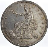 United States Trade Dollar dated 1877 S