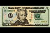 Image of United States twenty dollar bill
