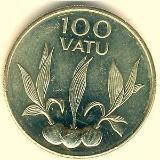 Coin catalog : Coin ‹ 100 Vatu